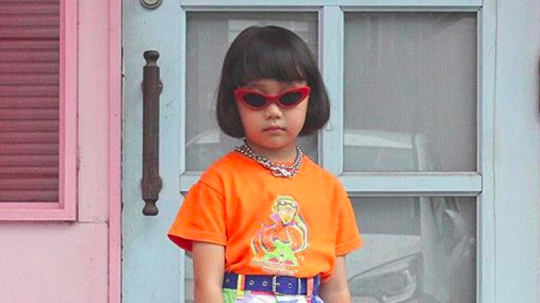 One of Instagram's most stylish users... is just seven years old
