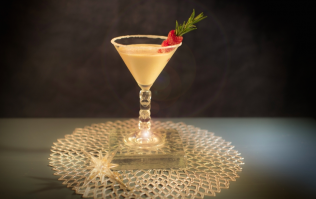 We'll be making this festive cocktail on repeat all Christmas