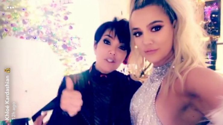 Everyone's asking the same thing after the Kardashian Christmas party