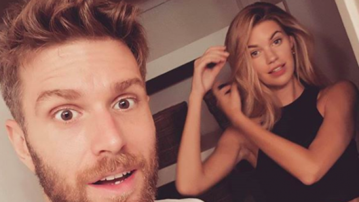 Joel Dommett shares engagement news in the best possible way