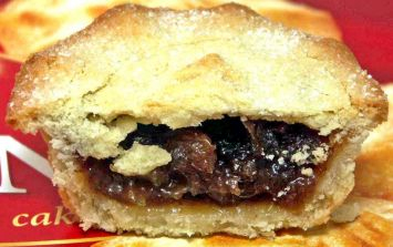 This is the exact mince pie that the royal family eat at Christmas