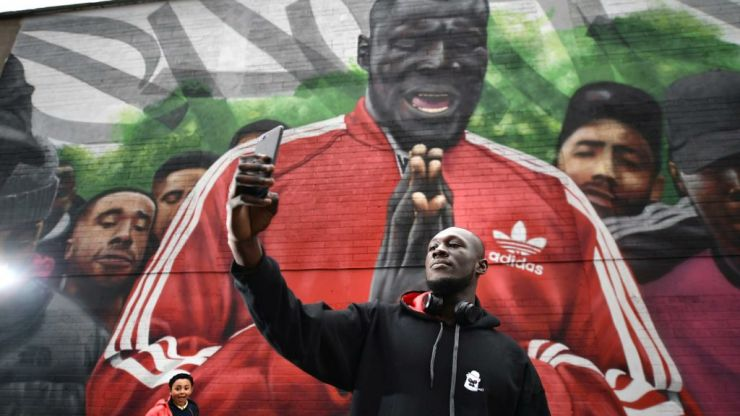 Council cover up Smithfield Stormzy mural with crappy paint job