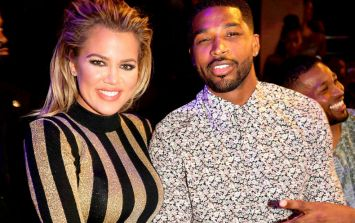 So... everyone missed Tristan's heart-melting note to Khloe on Instagram