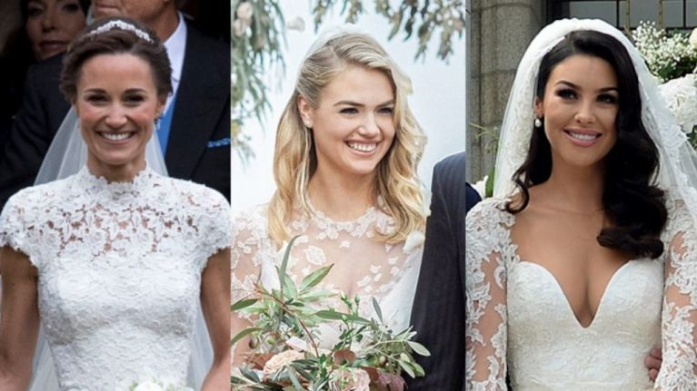 Our Top 20 Celebrity Wedding Dresses Of 2017 Her
