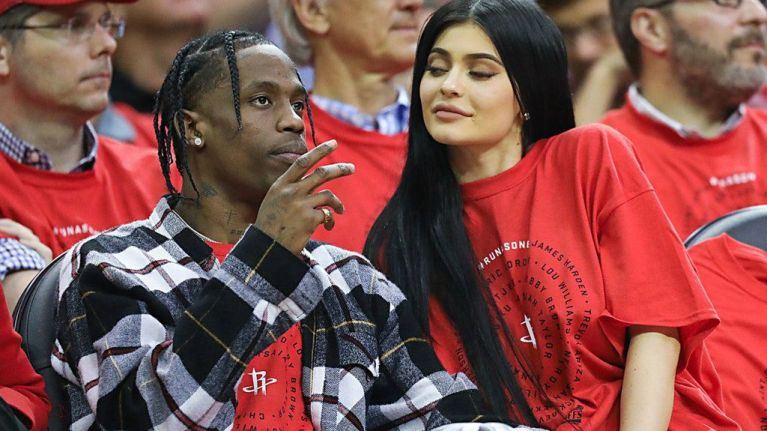 babe8fa66a31 Travis Scott has - finally! - responded to questions about Kylie's pregnancy