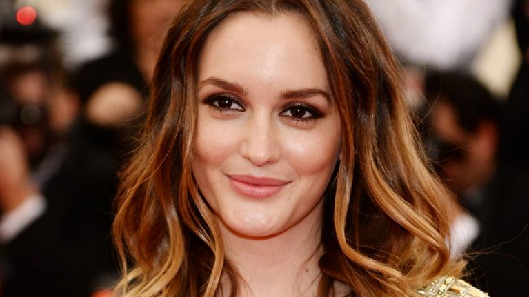 Gossip Girl's Leighton Meester has gone for a dramatic hair change
