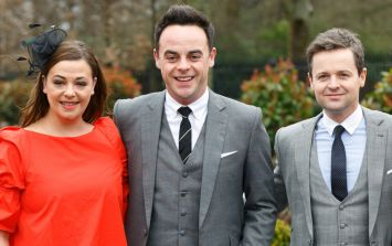 Ant McPartlin's wife shows support for Dec after Saturday Night Takeaway