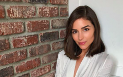 Olivia Culpo wore a Zara jumpsuit dress over the weekend and it's minimalist chic