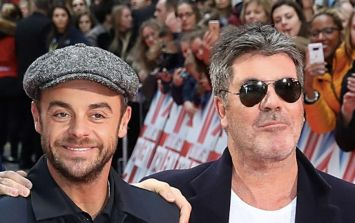 Simon Cowell speaks publicly for first time about Ant McPartlin's break from TV
