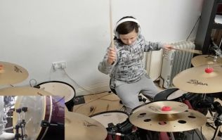 11-year-old Dublin girl played a Taylor Swift cover on the drums and she was amazing