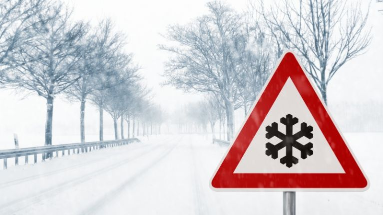 Ireland to be hit with a snow storm next week, according to weather charts