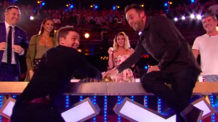 Ant McPartlin features on Britain's Got Talent... and everyone gets totes emosh