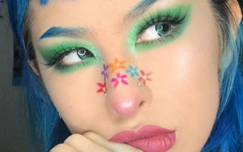 Nose art is the new Instagram trend... and we have to admit, it's pretty