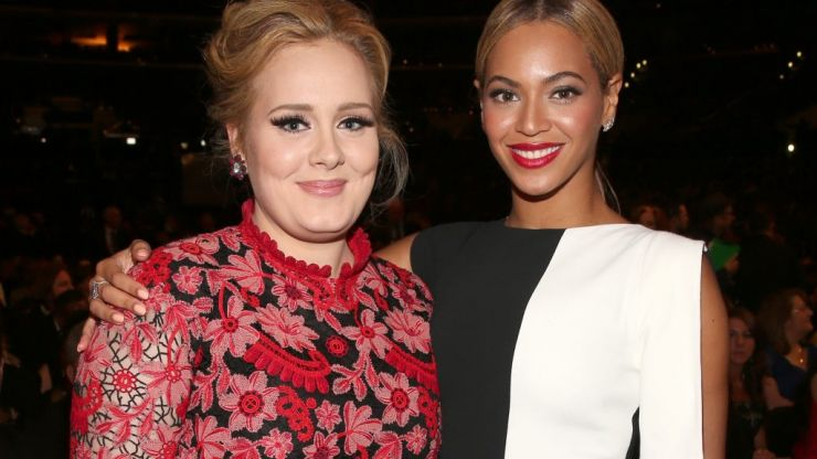 Adele watching Beyoncé's Coachella performance is literally all of us today