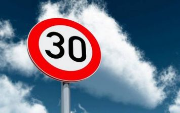 So, it looks like Dublin is getting more 30km/h speed zones
