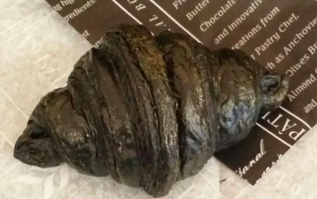 Black croissants are now all the rage despite looking like charcoal