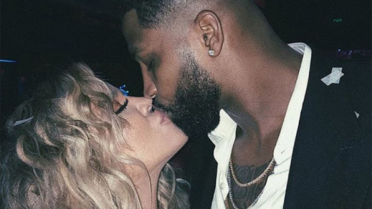 Is this footage of Tristan Thompson kissing another woman days before Khloe's due date?