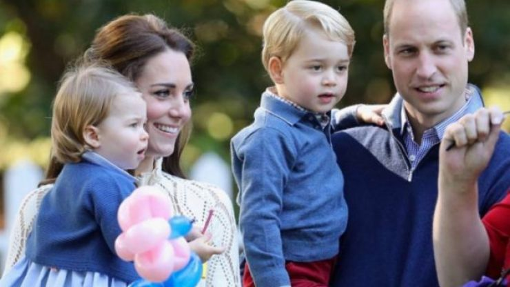 A pretty major royal tradition was broken over the weekend