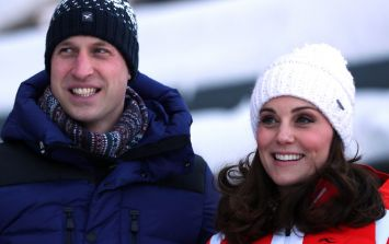 Awww! Looks like Prince William may have hinted about gender of royal baby