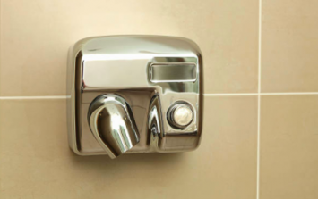 Here's why using a hand dryer in a public bathroom is actually a bit sick