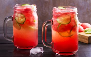 Sick of regular gin? Make this strawberry cucumber infused one yourself no bother