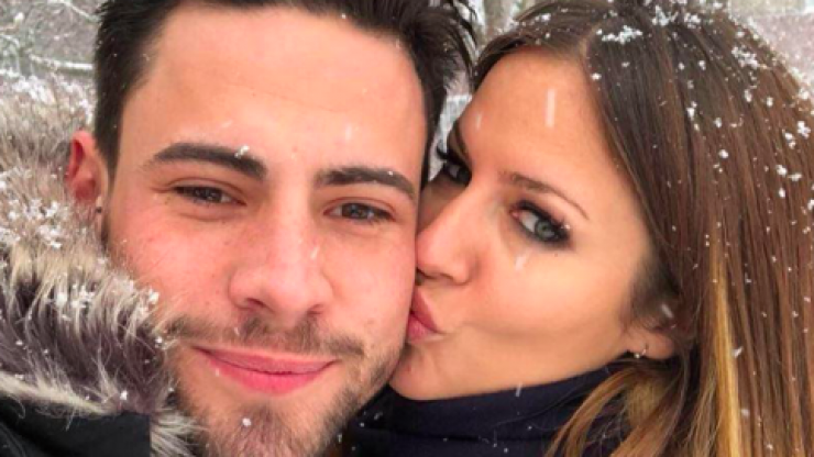 Caroline Flack 'takes a big step' in relationship with Andrew Brady