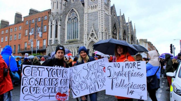 Here are the 170,216 reasons to Repeal the 8th amendment on Friday, May 25