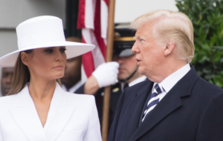 This video of Trump trying to hold Melania's hand is honestly painful to watch