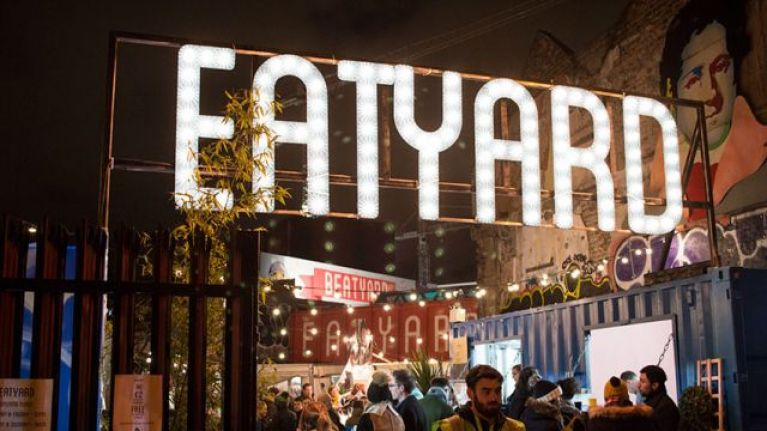 Yes, please! Just Eat is bringing the Eatyard straight to your door