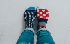 So, it's true! This picture proves the washing machine does eat our socks