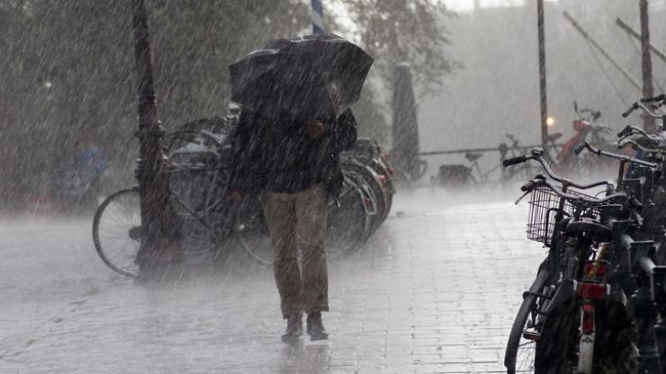 Rain, rain and more rain: The weather forecast for the next few days is not good
