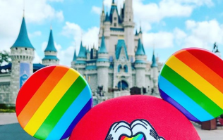 Disneyland has just released rainbow Mickey Mouse ears for Gay Pride