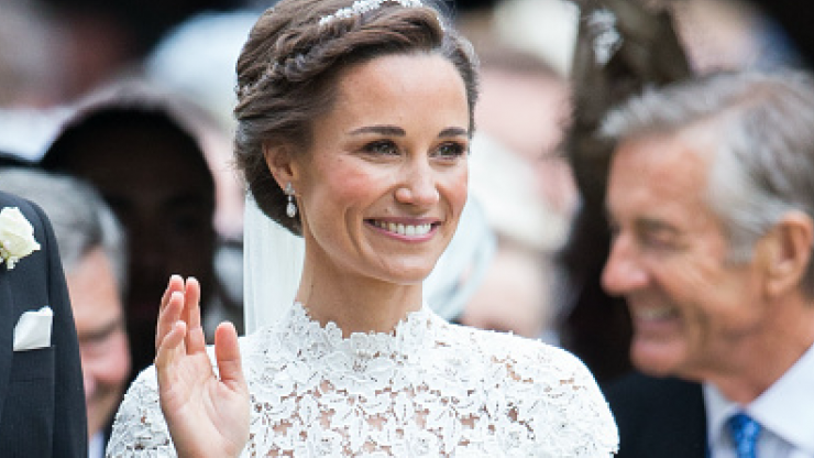 Monsoon has a very affordable dupe for Pippa Middleton's €45k wedding dress