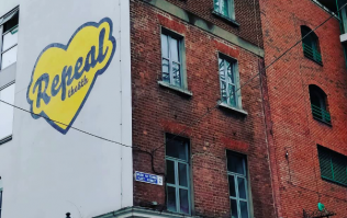 Maser's repeal mural is back up in Temple Bar and it looks better than ever