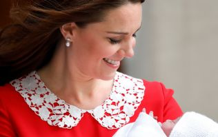 People are making a creepy comparison between Duchess Kate's Lindo Wing dress