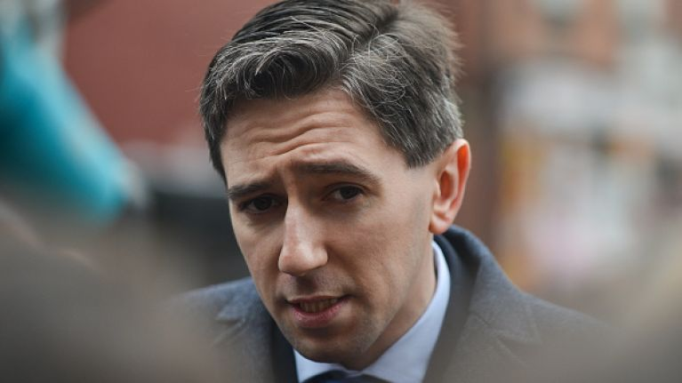 'Very frightening': Simon Harris says his family is 'shook' after protesters gathered at his home