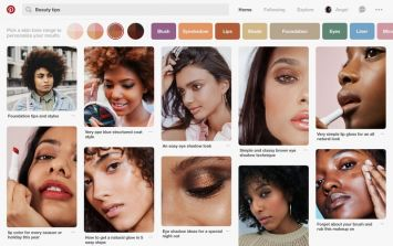 Pinterest are introducing a new search feature that is a game changer for beauty fans