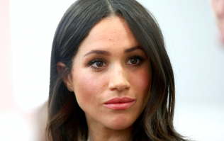 Everyone's talking about Meghan Markle's dress today and you'll see why