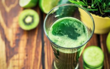 This delicious green shake will give your immune system a serious boost