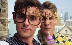 OK so Tom Daley had a baby shower yesterday and it looked extra AF