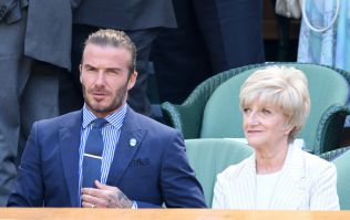 MORTO! David Beckham sent his mum a flirty text by accident