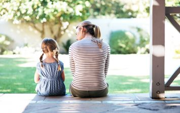 Having an absent dad can 'ruin' a child's life, claims single mum