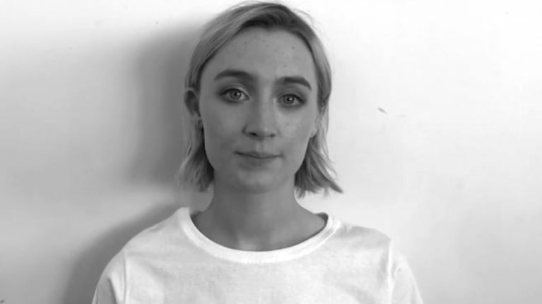 Saoirse Ronan and fellow Irish actors stand in powerful video to repeal the eight amendment