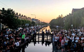 There are calls for social drinking along canals to be stopped
