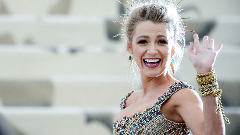 Blake Lively hid a secret message to Ryan Reynolds in her Met Ball dress