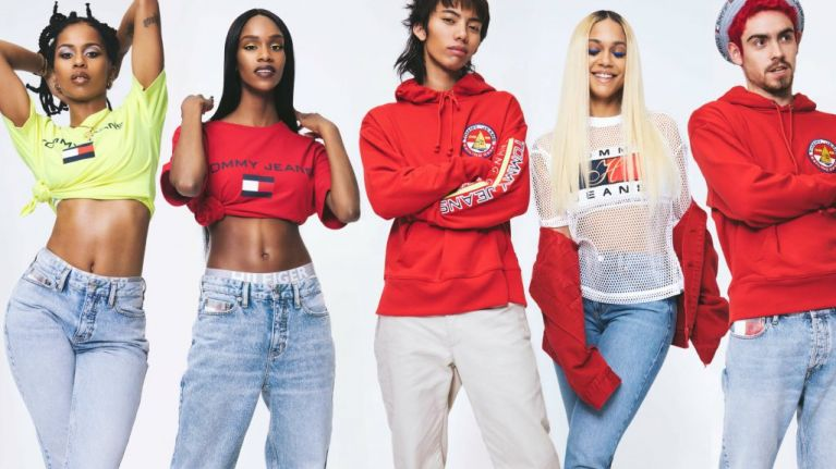 8b255b66ef70 Tommy Hilfiger s new JEANS capsule collection is everything we need for  summer