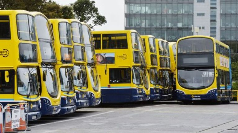 Say goodbye to the blue and yellow Dublin Buses, they're all about to change