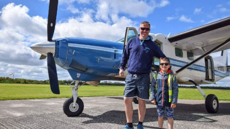 More than €30k raised for family of 7-year-old boy who died in plane crash in Offaly