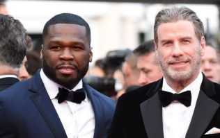 John Travolta dancing with 50 Cent is honestly the only thing you need to see today
