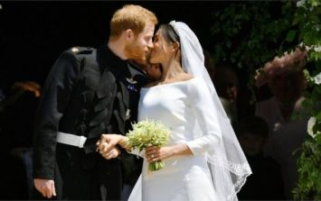 Oh WOW! Meghan's second wedding dress is here and she's nailed it